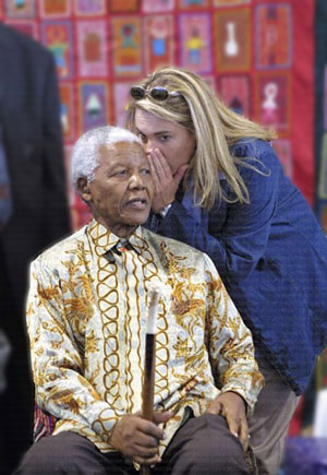 She has been Nelson Mandela's secretary, butler, aide-de-camp, spokesperson, travelling companion, confidante and, as she put it (and he agrees), honorary granddaughter, growing ever closer to him from the day she began work as an anonymous typist in the presidential office in 1994