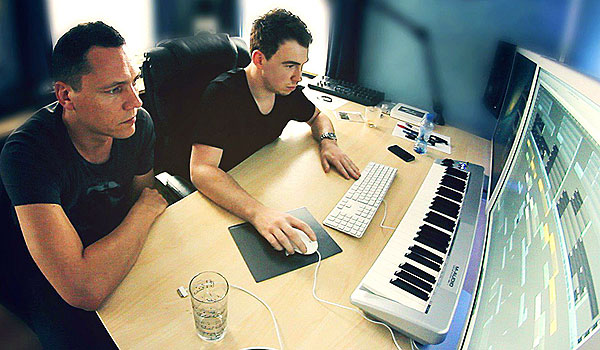 Tiesto-and-Hardwell-in-Studio