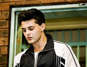 The last public media photo of Christoff Becker before he went to jail on 12 August 2008
