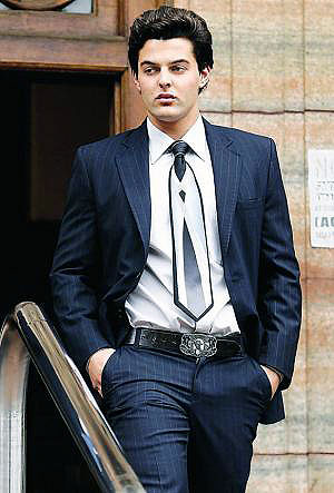 Christoff Becker, the son of the principal of Hoërskool Waterkloof Dr Christo Becker