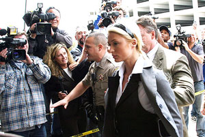 Hilton was required to begin her jail term on June 5, and checked herself into the Century Regional Detention Facility, an all-female jail in Lynwood, California after attending the 2007 MTV Movie Awards on June 3.