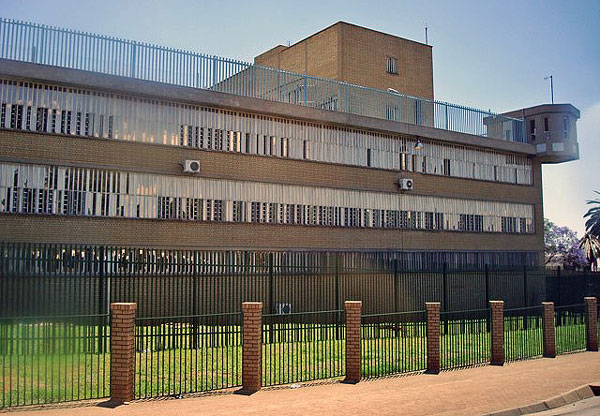 "Pretoria Central Prison is a large prison in Pretoria, Gauteng, South Africa. The prison was the official site of capital punishment in South Africa during the apartheid era. Condemned prisoners were held in a section of the prison called ""The Pot""."
