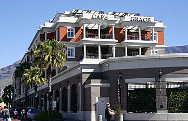 Cape Grace is a stylish Cape Town hotel, offering luxurious accommodation in the V&A Waterfront.
