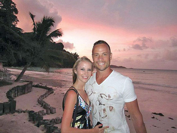 "Samantha Taylor and Oscar appeared on the beaches of the Seychelles in the SABC3 magazine show Top Billing.  Taylor initially told Press that Reeva is dating one of Pistorius' friends, but later said ""She has been following me for a long time on Instagram (a photo-sharing system on Twitter) and knows exactly where I am and everything going on in my relationship with Oscar,"" she said."