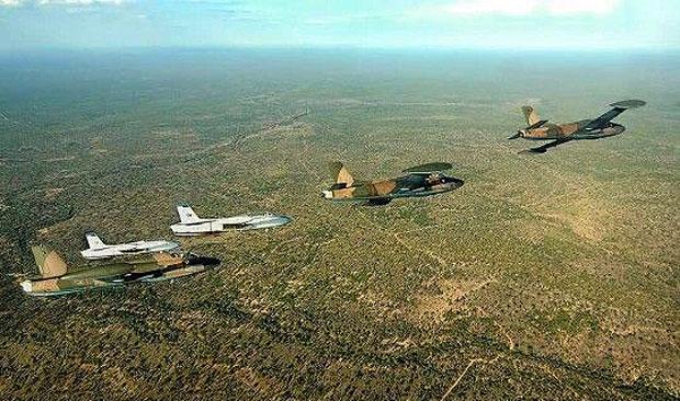 The Last SAAF Impala flypast